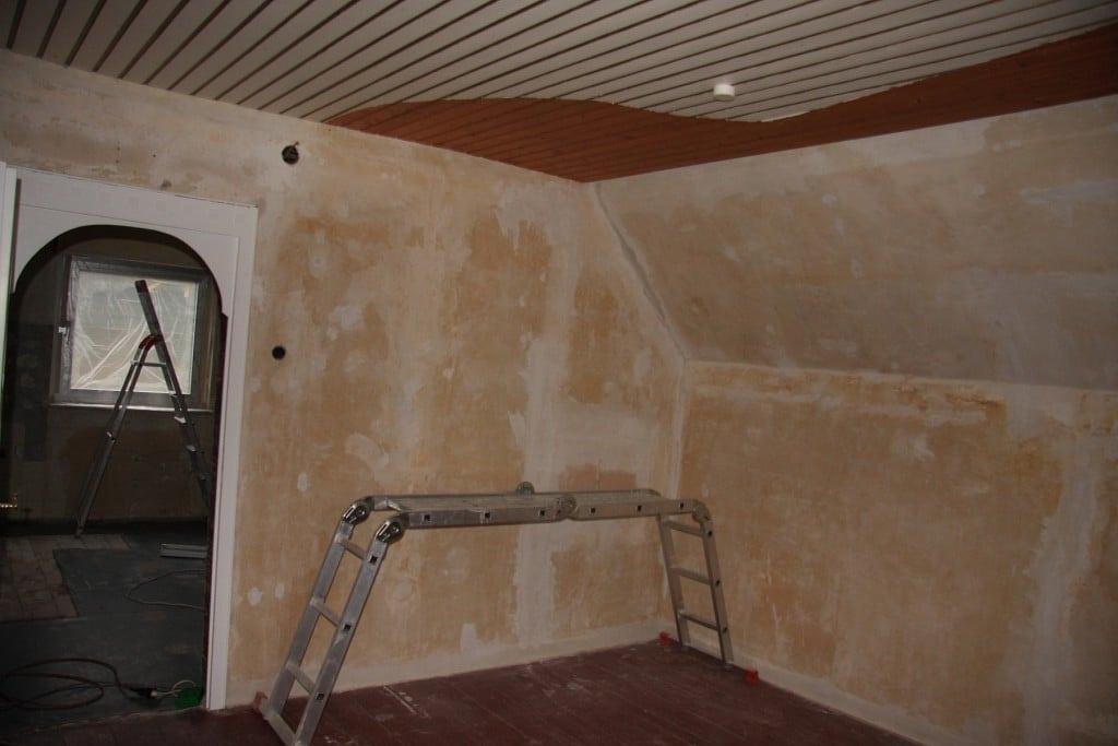 Wände wurden gesäubert