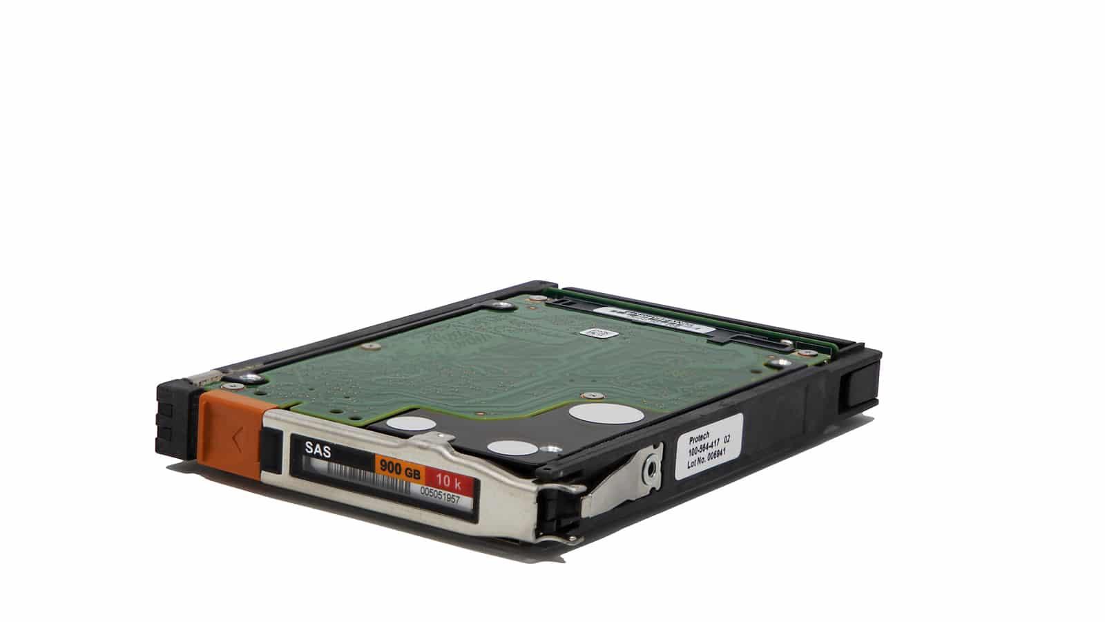 Festplatte mit erweiterten Schärfentiefe