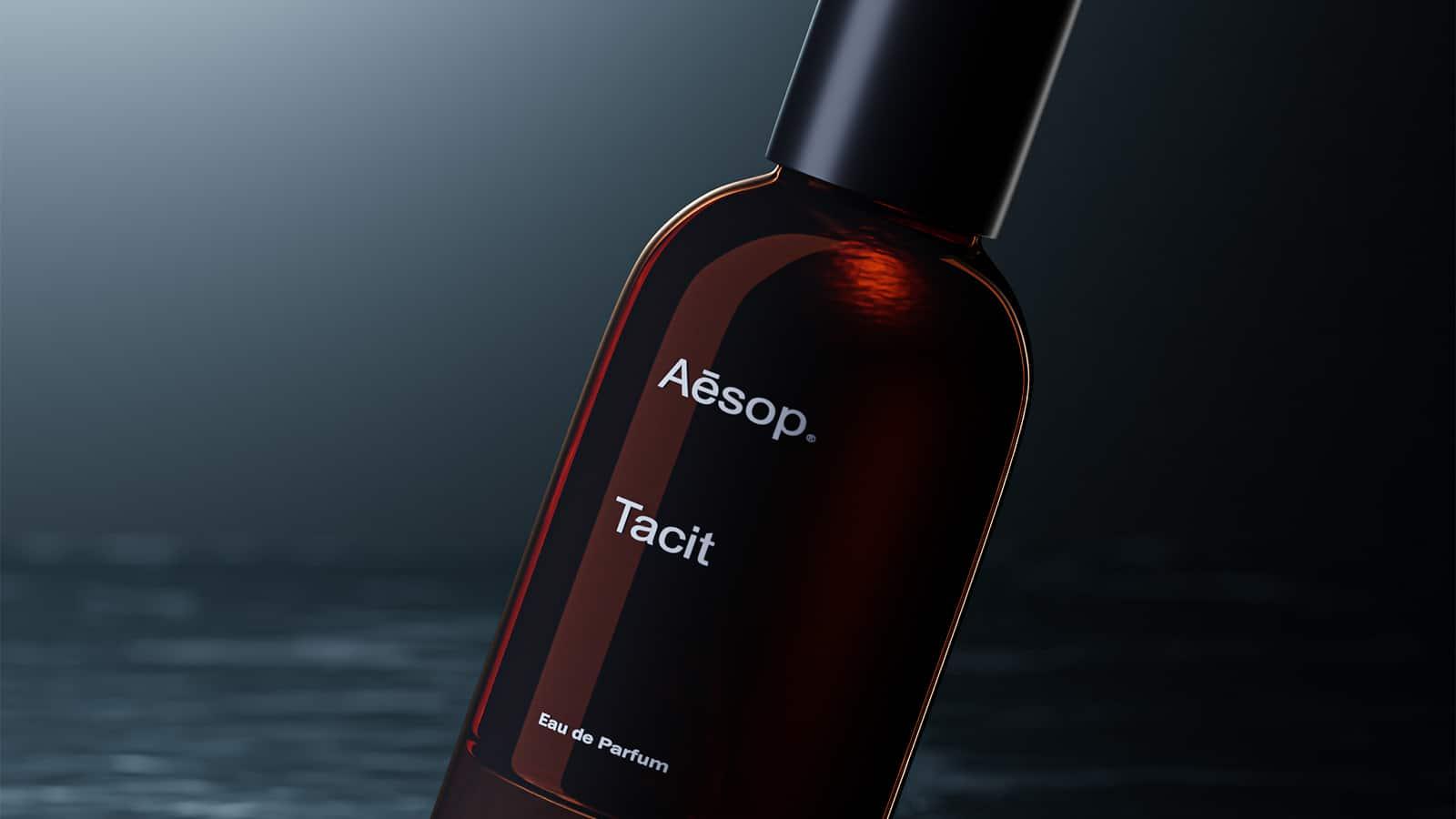 Produkt-Rendering: Parfümflasche
